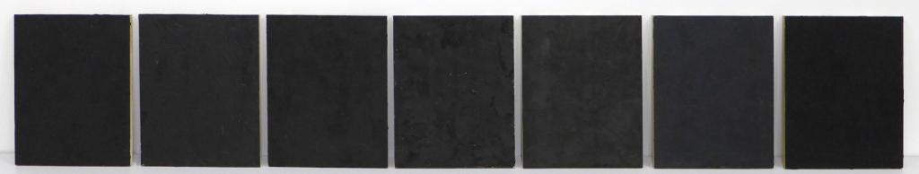 Testpaneeltjes-houtskool